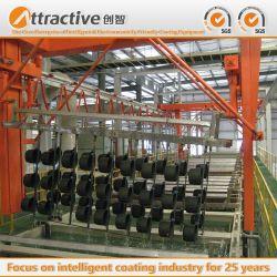 Produzione europea della linea di produzione su grande scala della macchina del rivestimento della polvere dell'attrezzatura di produzione della verniciatura a spruzzo per il Cookware di fabbricazione della fabbrica