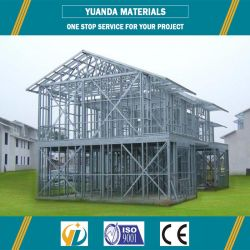 Estrutura de aço leve para casa Prefab da Estrutura