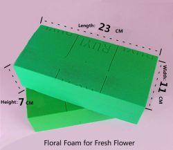 Gomma piuma decorativa del fiore delle corone dei fiori dei mattoni floreali della gomma piuma per il fiore fresco ed il fiore secco