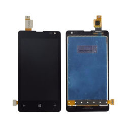 Téléphone cellulaire pour l'écran LCD de Microsoft Nokia Lumia 435 l'écran LCD à écran tactile Assemblée du numériseur