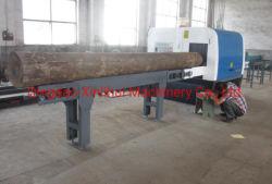 Высокая производительность автоматической деревообрабатывающий станок для резки древесины и деревообрабатывающей промышленности журнал пильный станок