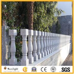 De Grijze Leuning van uitstekende kwaliteit van de Baluster van het Graniet voor de Bouw van het Huis/van de Buitenkant