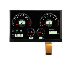 GPS 7 van de auto Module van de Vertoning van het Scherm van de Aanraking van de Duim TFT Shenzhen de Speciale LCD