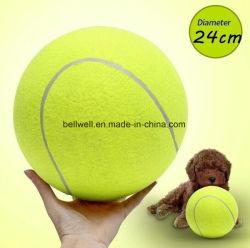Os brinquedos Pet cachorro quente de bola de ténis venda OEM personalizados inflado bola de ténis gigante para a promoção