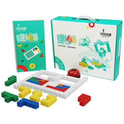 I giocattoli creativi 142PCS della costruzione dei giocattoli della particella elementare dei modelli includono il libro di istruzione