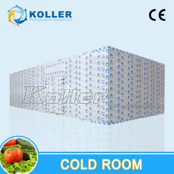 Sala fria para o hotel e supermercado carnes e produtos hortícolas preservar