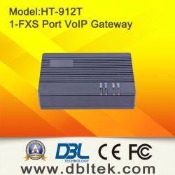 VoIP ATA avec le port 1-Fxs à se connecter par interface à un téléphone de PSTN (HT-912)