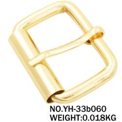 Bouton en métal de la courroie d'usine de la broche boucle de ceinture pour les vêtements et les sacs