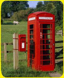 Retro Ambachten van de Telefooncel van Londen van het metaal de Rode