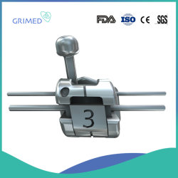Auto del metallo ortodontico dentale di Grimed mini che lega parentesi 0.18/0.22 Roth/Mbt