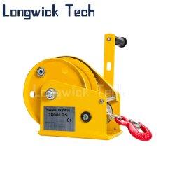 Main autobloquant treuil de levage lourd portable Manuel de la poulie treuil avec frein automatique