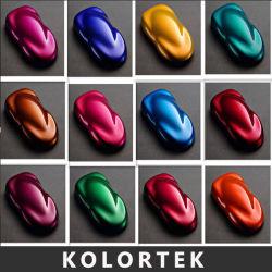 Pigmento Kolortek para Auto Coche personalizado caramelo Pintura Pintura en polvo