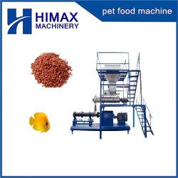 L'espulsore della pallina dell'alimentazione che elabora la macchina del laminatoio produce l'alimento per il pollame animale dell'animale domestico dei pesci