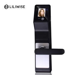 O sensor de infravermelhos do cartão inteligente Face Recognition Senha de bloqueio de porta digital