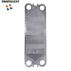 Titanio dell'acciaio inossidabile del piatto dello scambiatore di calore di Gea Vt20 Vt40 Nt50 Nt100 Nt150 Nt250 per lo scambiatore di calore chimico dell'acqua