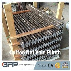 Máquina de café em mármore chinês veia líquida Marble para condutor Frame