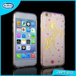بالنسبة إلى حافظة iPhone 7، يمكن تعديل رسم 3D Sublimation الفريد من نوعه غطاء علب هواتف Crystal TPU لجهاز iPhone 7 Plus