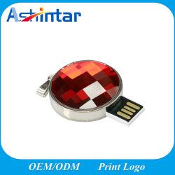 Mini-USB-Speicher-Stock-Kristall USB-grelle Platte
