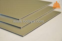 Material de aluminio paneles de chapa decorativos compuesto de aluminio