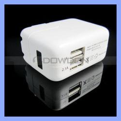 adaptateur électrique double chargeur de voyage USB pour iPhone iPad nous chargeur mural/UE/RU/AU CONNECTEUR