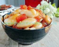 통판매 토마토 소스를 곁들인 구운 강낭콩 425g