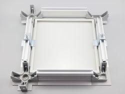 Vuurvast hitte-Isolatie Cleanroom van het Bouwmateriaal de a-stijl van de Kiel van het Aluminium van het Systeem t-Grid/T-Staaf Plafond