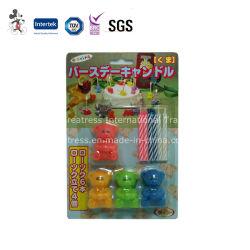Vela de Aniversário engraçadas com suporte de brinquedos