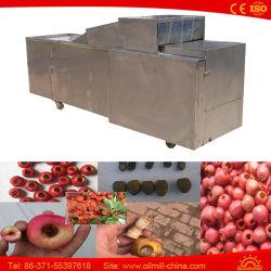 Datas de azeite de cereja em aço inoxidável microfissuras The Pitter cereja eléctrico da máquina