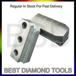 Pulido y calibración de instrumentos utilizados para procesar y terminar las superficies de piedra naturales y tecnológicas