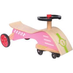 대중적인 새로운 차가운 나무로 되는 장난감 아기 강선전도 차