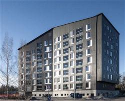 Multi-pisos Prehab estructura de acero ligero Hotel Apartamento Modular House (KXD-38)