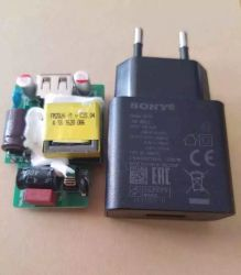 소니 C3/Z3 충전기용 정품 5V 2.1A 전화기 충전기 어댑터