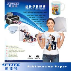 100GSM A3 A4 열 승화 전사지를 인쇄하는 잉크 제트