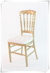 Party Rentalのための製造WhiteナポレオンFolding Chair