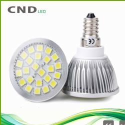 Helle E14 E27 LED Schale des LED-Scheinwerfer-4W SMD 24LEDs Spotl Ight LED
