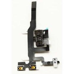 für iPhone 4S 4GS Kopfhöreraudiojack-Volumen-Energien-Flexband-Kabel