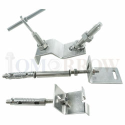 Alta qualità Stainless Steel 304/316 di Marble Angle/Marble Anchor/Z Anchor/L Anchor/Kerf Anchor/Soffit Anchor/Grout in Anchor/Mortar Anchor/Fish Tail Anchor