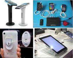 Het mobiele Slimme Systeem van het Alarm van de Veiligheid van de Vertoning van de Telefoon /Protector die de Tribune van de Kiosk van de Kast de AcrylMuur van de Steun van de Houder laden zet lanti-Diefstal Recoiler op