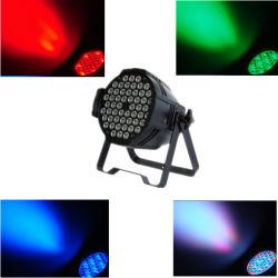 LED 스테이지 라이트 54X3w RGBW LED 파 64