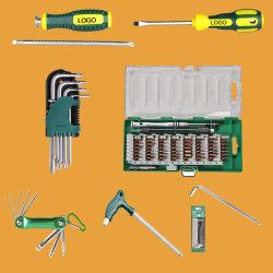 Hoogwaardige 6 in 1 Precision Tools Hardware Mini Electric Schroevendraaier gereedschapsset fabriek in China