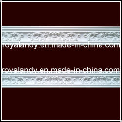 PolyUrethane Moulding Cornice Skirting Decoration Molding (hn-005)