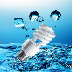 7 W/11W15W/18W T3 de la moitié de l'énergie en spirale avec économiseur de lampe CFL (BNFT3-HS-B)
