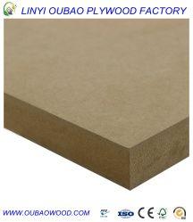 Dichte Herr-Glue Anti-Mositure E2 640kg/M3, Melamin MDF-Vorstand
