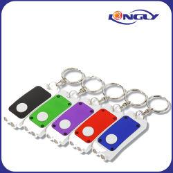 High Quality Double Lighted Keychain/LED Key Light