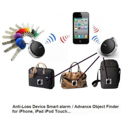 Vtag Anti-Lost Key Finder Seeker Locator Alarm für iPhone 5 4s iPad 4 Mini Black