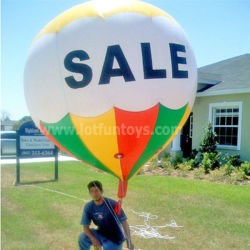 Inflables publicitarios: grandes globos de helio hidrógeno