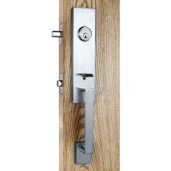 Entrée en alliage de zinc haute sécurité avec plein de la plaque de verrouillage de porte