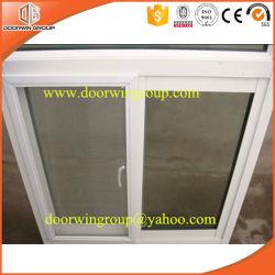 نافذة منزلقة من الألومنيوم الفاخر مع شاشة Fly