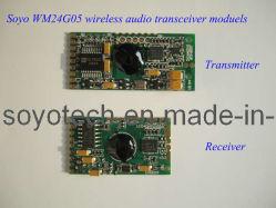 2,4Ghz 1: 1 módulo transmissor de áudio digital sem fios