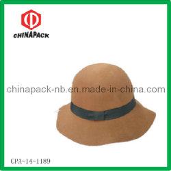 Cappelli superiori flessibili del bordo delle lane del Brown 100% (CPA-14-1189)